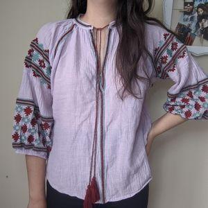 World Market blouse